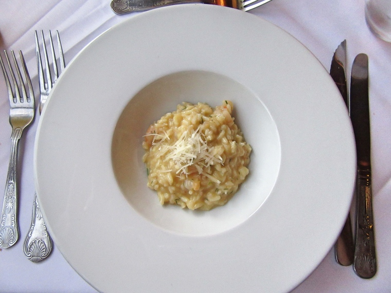 Risotto at Beech Hill Hotel & Spa