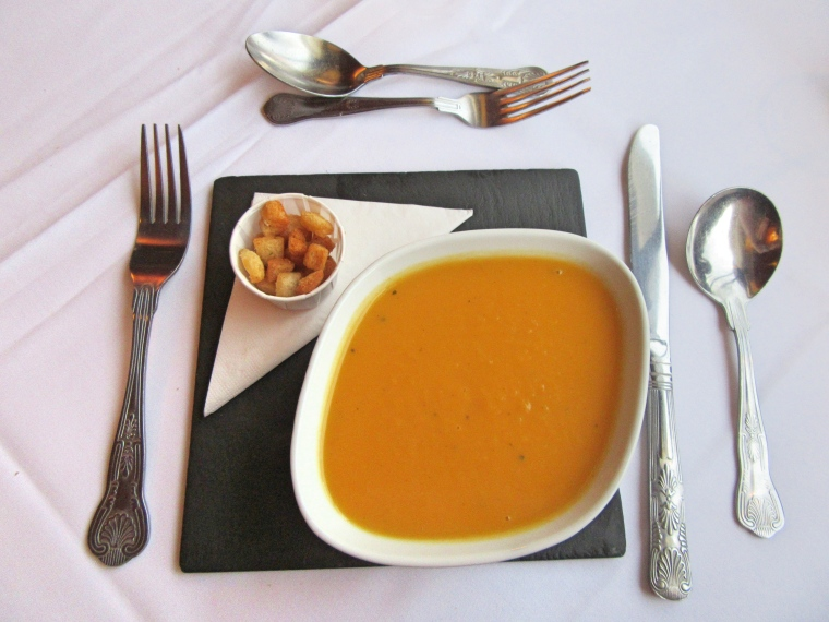 Soup at Beech Hill Hotel & Spa