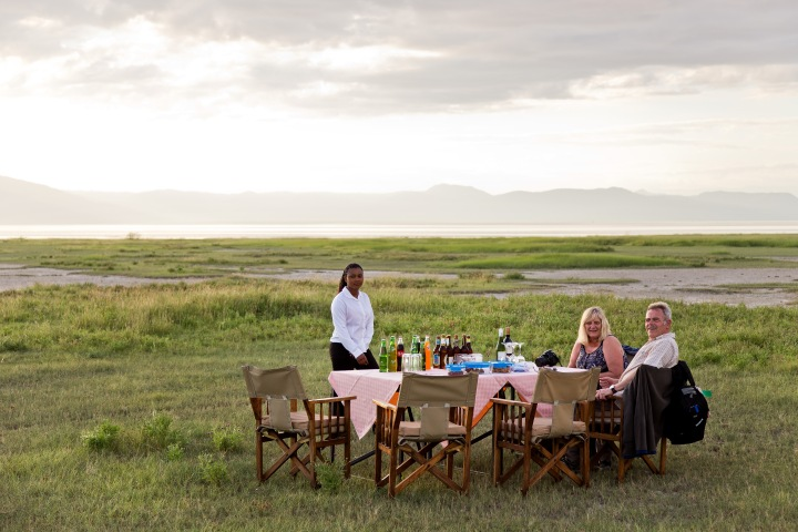 Many lodges can arrange for you to watch the sun go down, drink in hand, out in the bush or near a lake