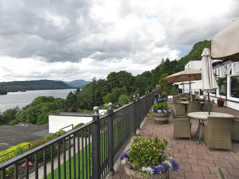 Terrace at Beech Hill Hotel & Spa