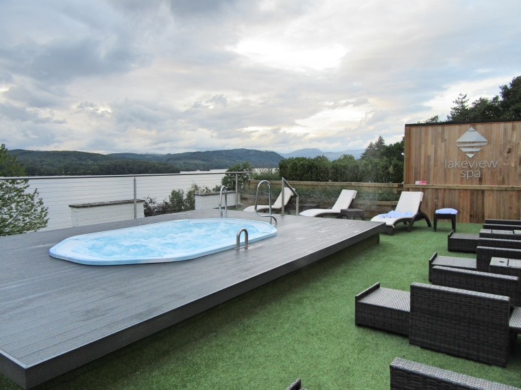Viality Pool in the Lakeview Spa at Beech Hill Hotel & Spa
