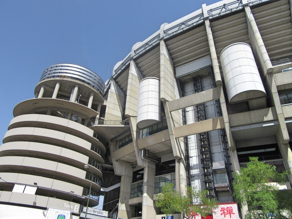Bernabeu Stadium, Madrid