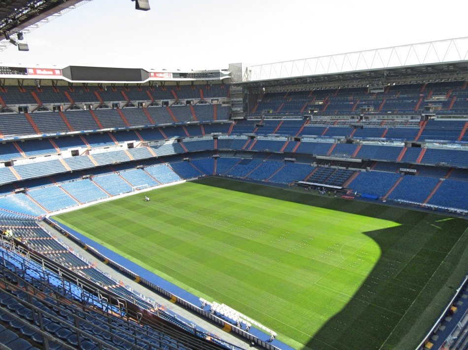From the Top of The Bernabeu, Madrid