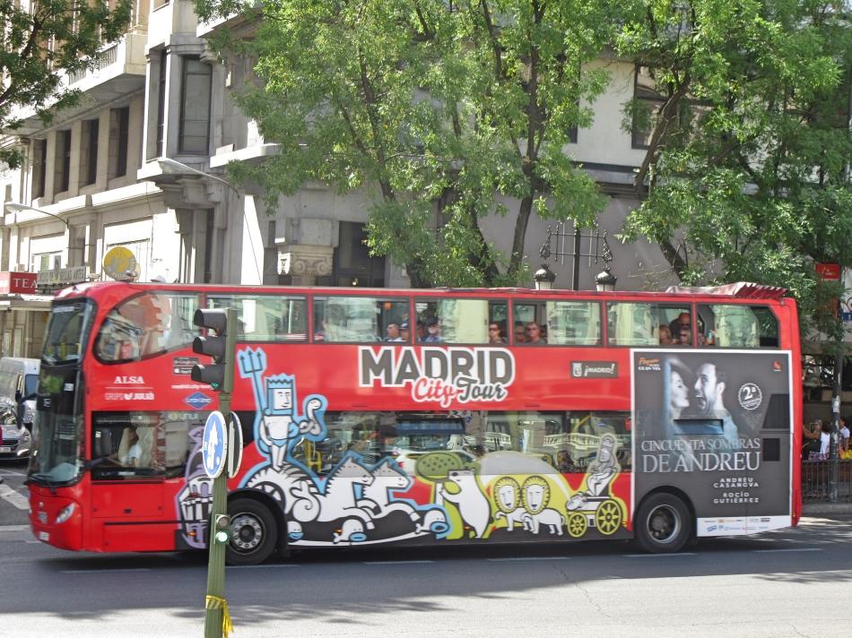 Hop On, Hop Off Bus, Madrid