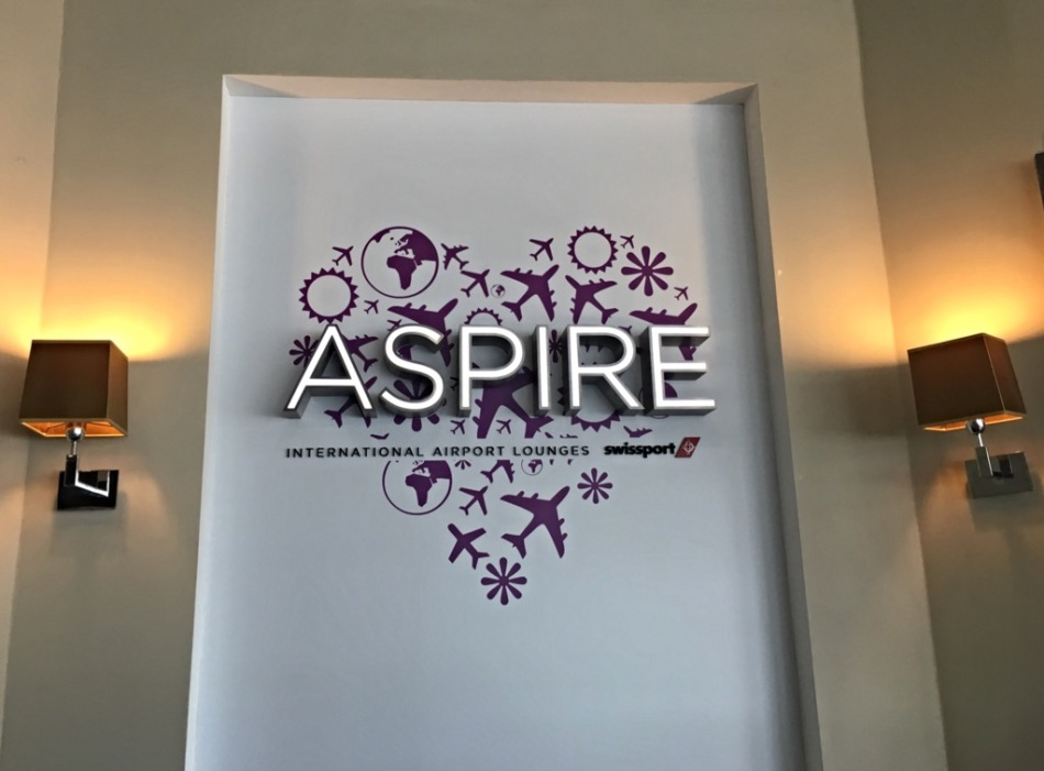 The Aspire Lounge at Birmingham Airport