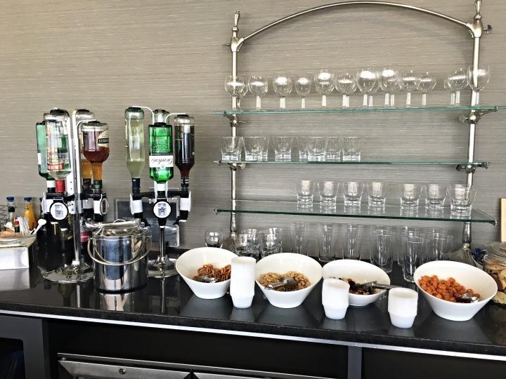 Aspire Lounge at Birmingham Airport