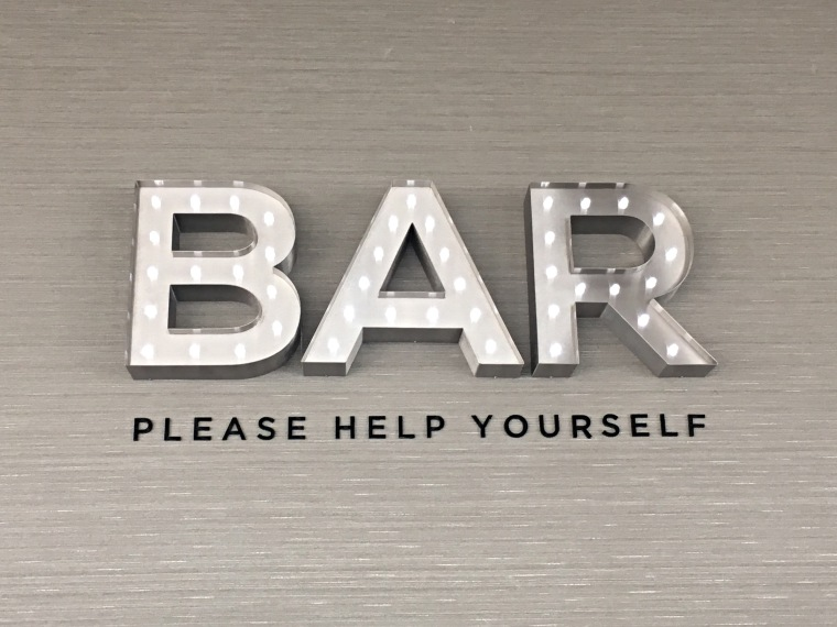 The Best Sign In The World? Aspire Lounge at Birmingham Airport