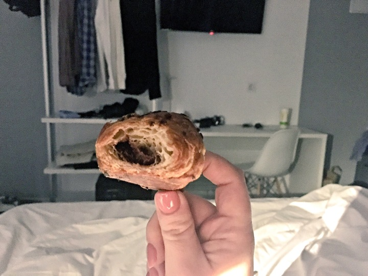 Breakfast in bed at Sidorme Hotel Fuencarral 52