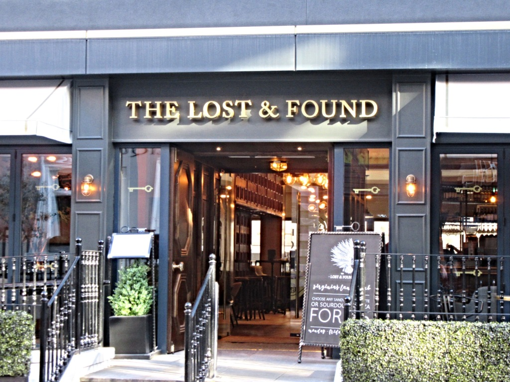 Entrance to The Lost & Found, Leeds