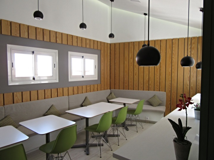 Coffee lounge at Sidorme Hotel Fuencarral 52, Madrid