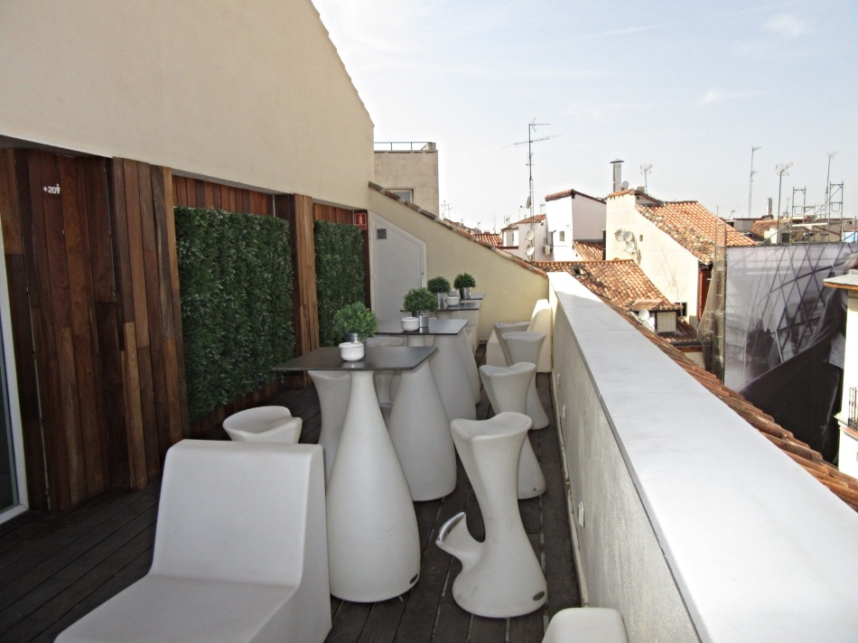 Sun Terrace at Sidorme Hotel Fuencarral 52, Madrid