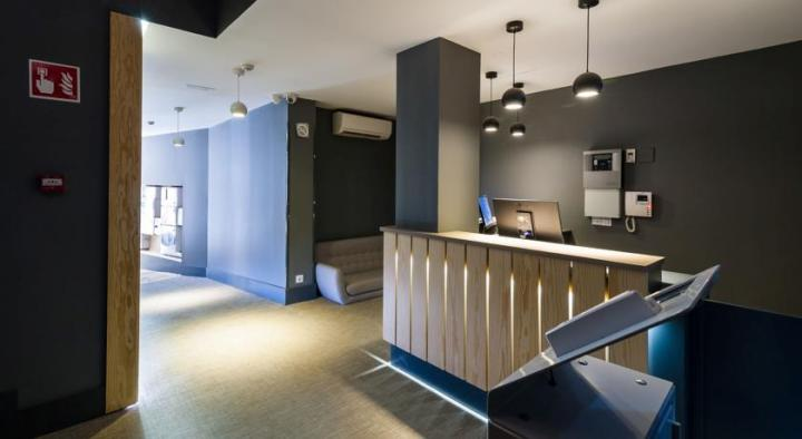 Reception area at Sidorme Hotel Fuencarral 52, Madrid