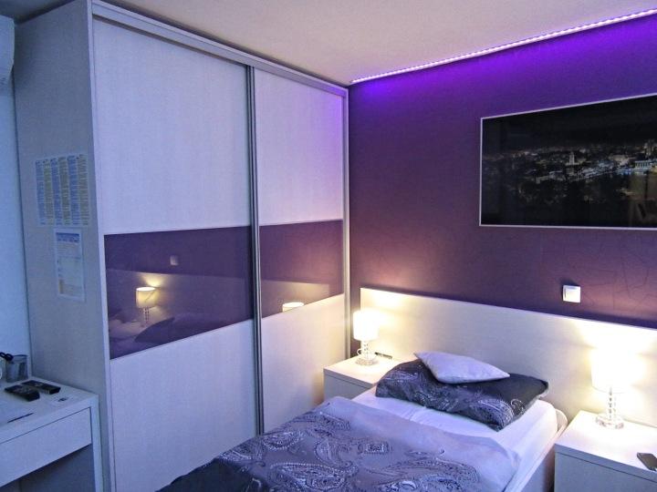 My bed in Beds in Diokles Studio Apartmen in Split, Croatia