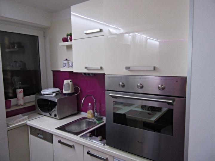 Kitchen in Diokles Studio Apartmen in Split, Croatia