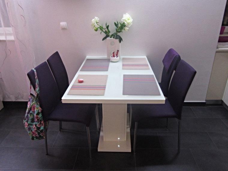 Dining table in My bed in Beds in Diokles Studio Apartmen in Split, Croatia