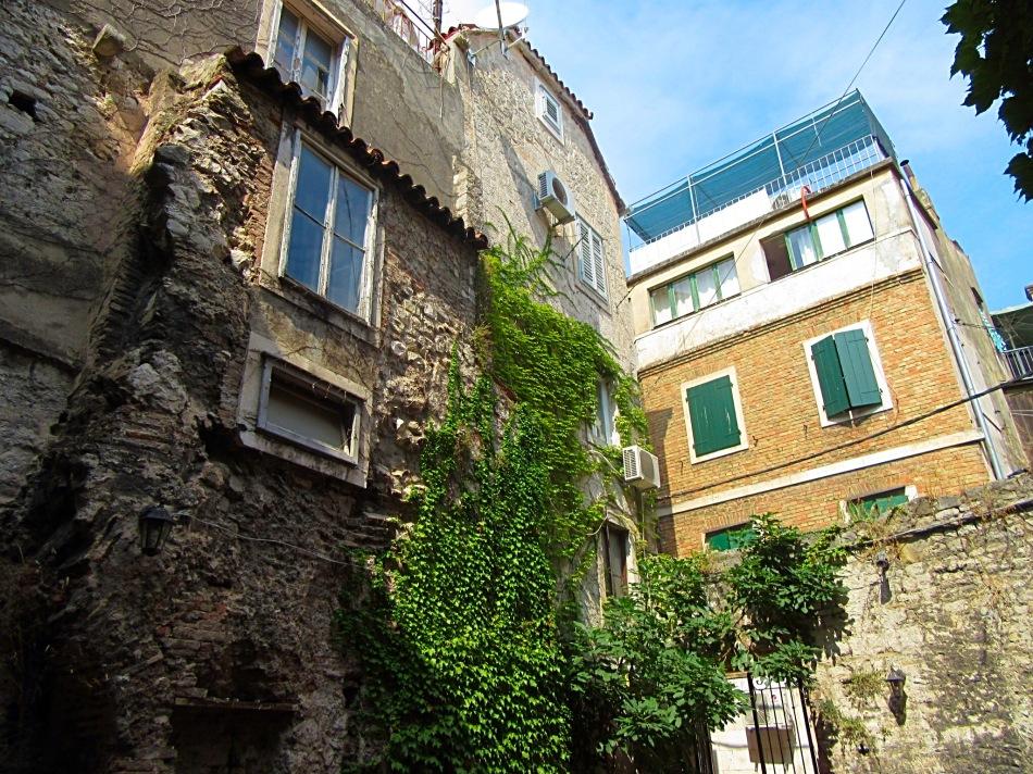 Streets in Split, Croatia