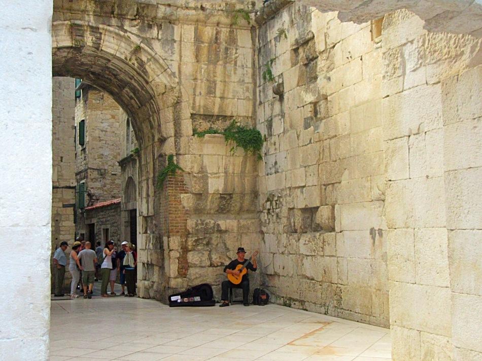 Musician in Split, Croatia