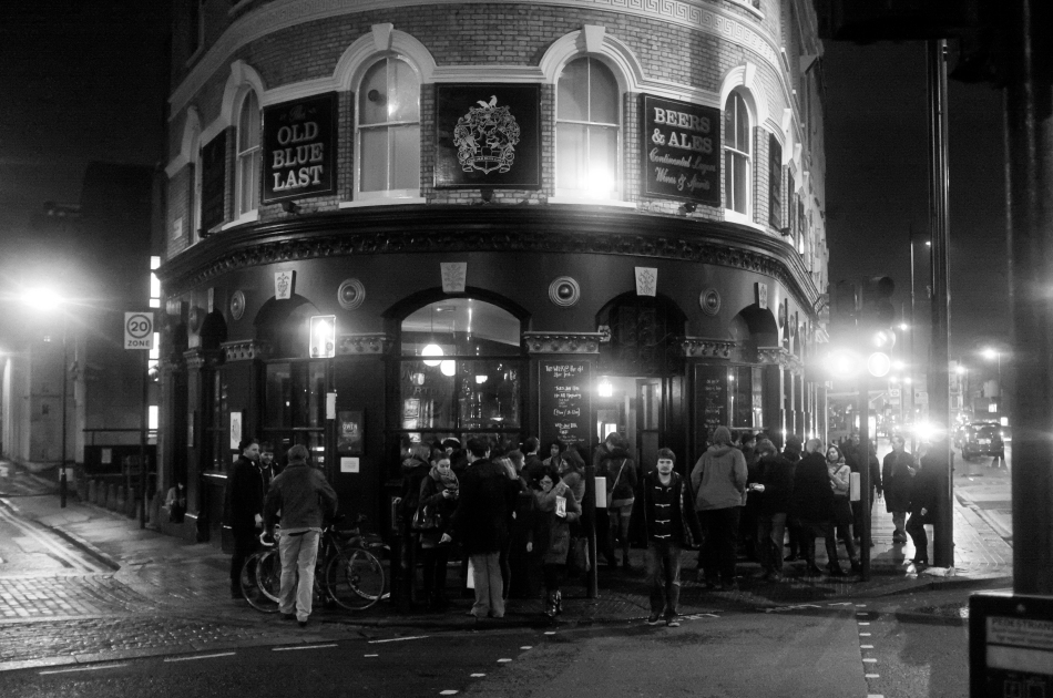 The Old Blue Last, London