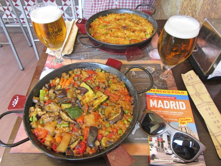 Paella in Madrid
