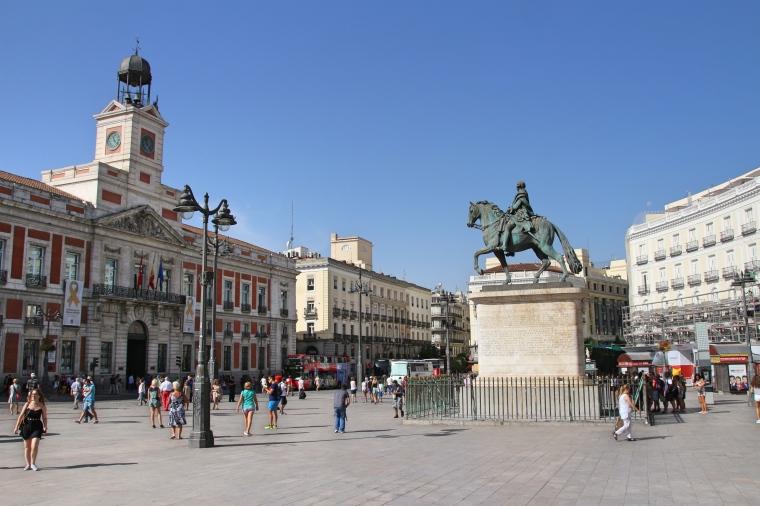 Puerta del Sol Square, Madrid