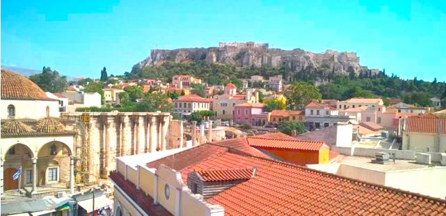 View of Monastiraki Square