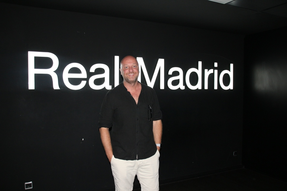 The Bernabeu is home to Real Madrid