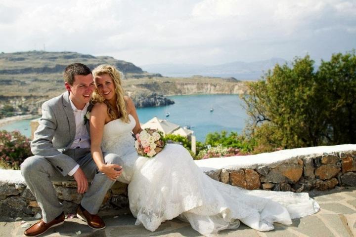 Hayley's Lindos Wedding
