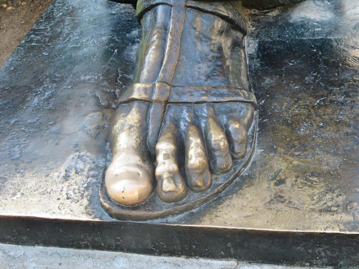 Gregory of Nin's Foot -rub it for good luck, Split, Croatia