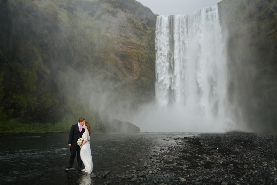 Michaela's Iceland Wedding Photo taken by Paulina Owad