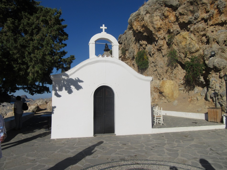 St Paul's Chapel in Lindos, Rhodes