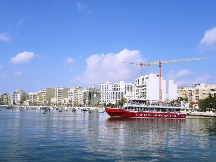 Ship to Comino, Malta