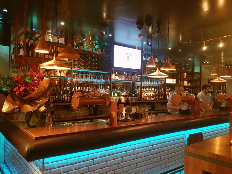 Bar at Banyan Bar & Kitchen Roundhay, Leeds