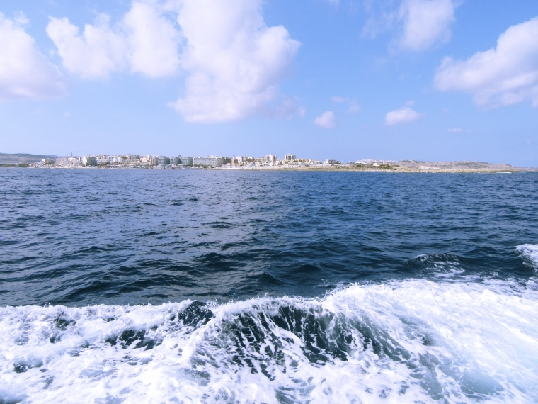 Cruising to Comino, Malta