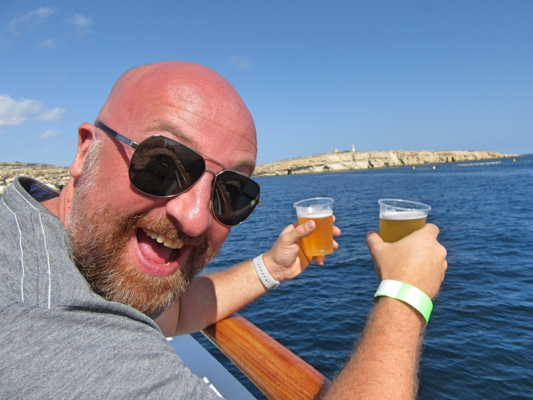Mr ESLT Cruising to Comino, Malta