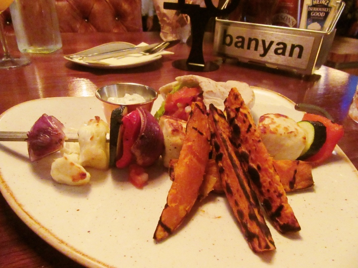 Halloumi Skewers at Banyan Bar & Kitchen Roundhay, Leeds