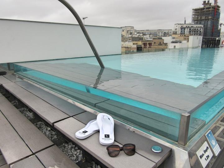 Swimming Pool at Hotel Valentina, St Julian's, Malta