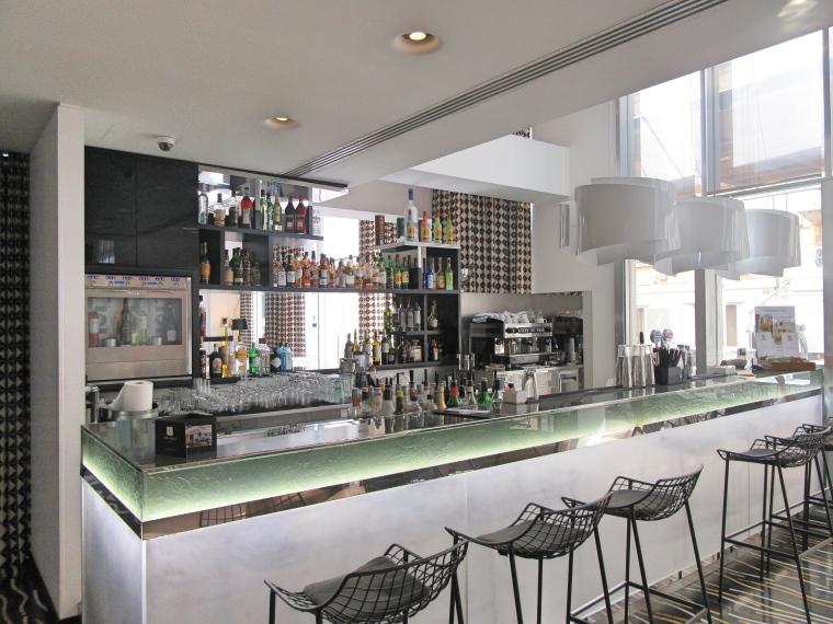 Bar area at Hotel Valentina, St Julian's, Malta
