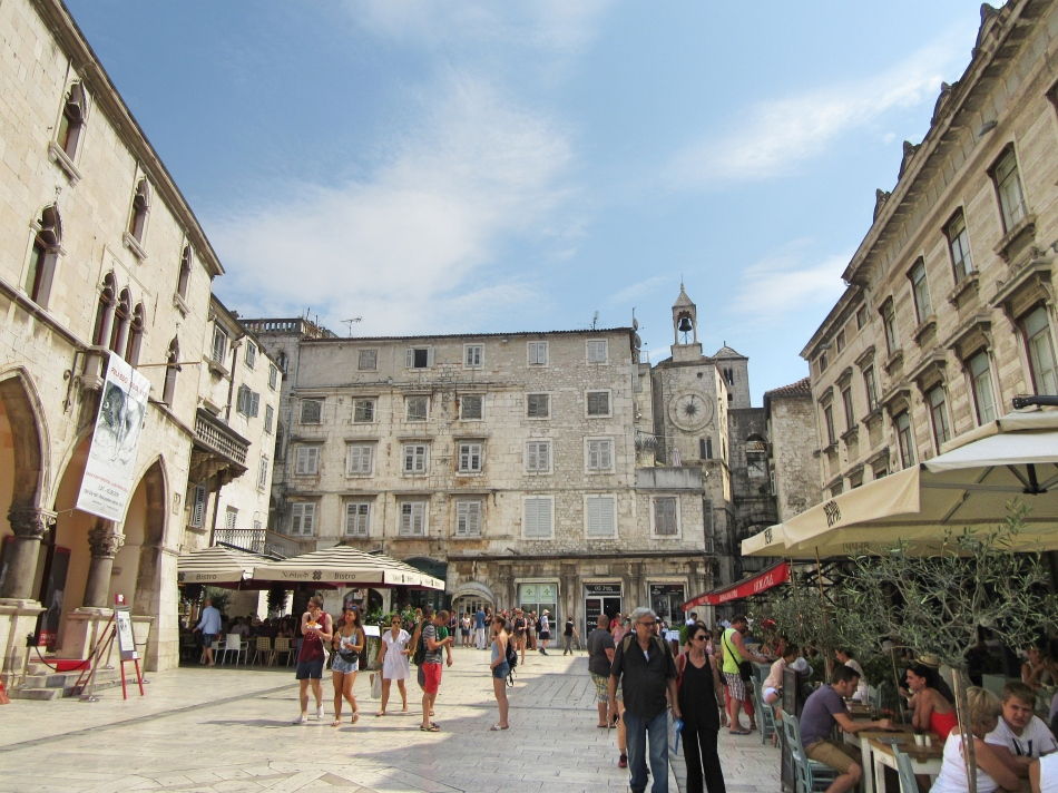 Narodni Trg in Split, Croatia