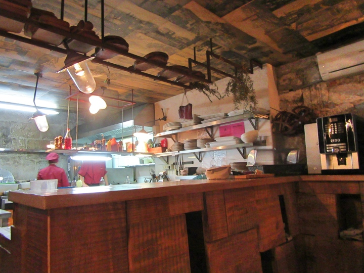 Open Kitchen at Diocletian's Wine House, Split