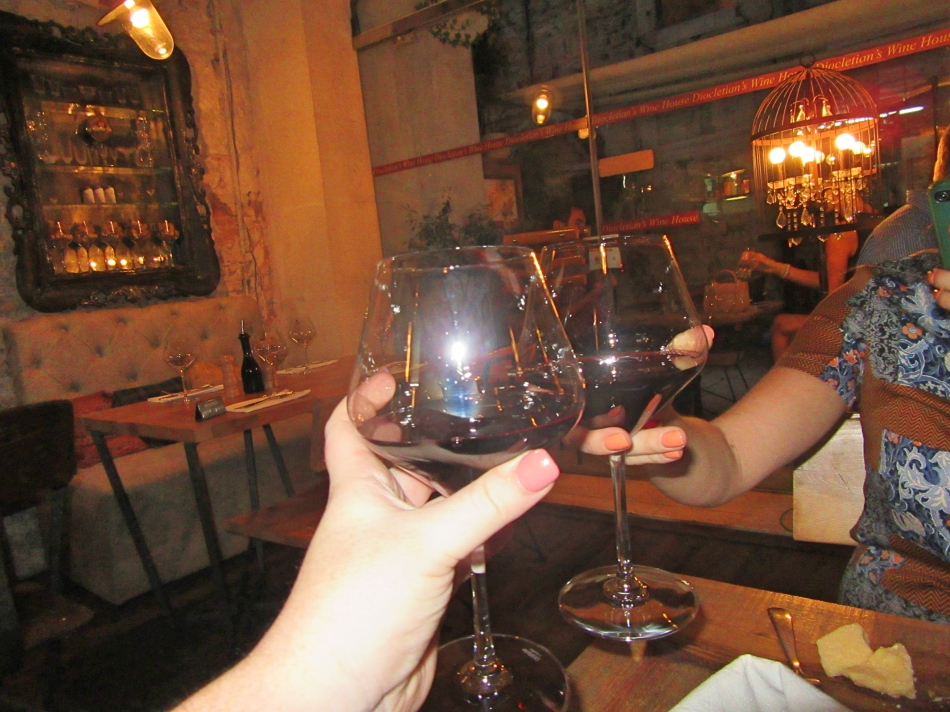 Red Wine at Diocletian's Wine House, Split