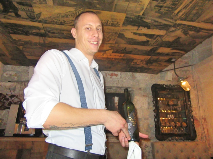 Sommelier-at Diocletian's Wine House, Split
