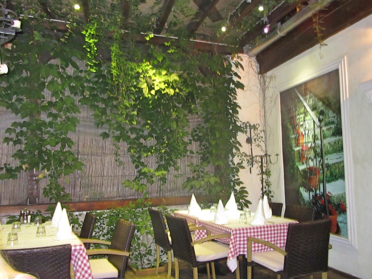 Summer Terrace at Tinel Trattoria, Split