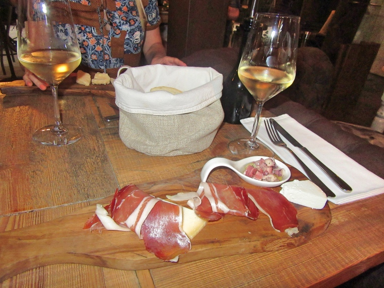 Tasting Platter at Diocletian's Wine House, Split