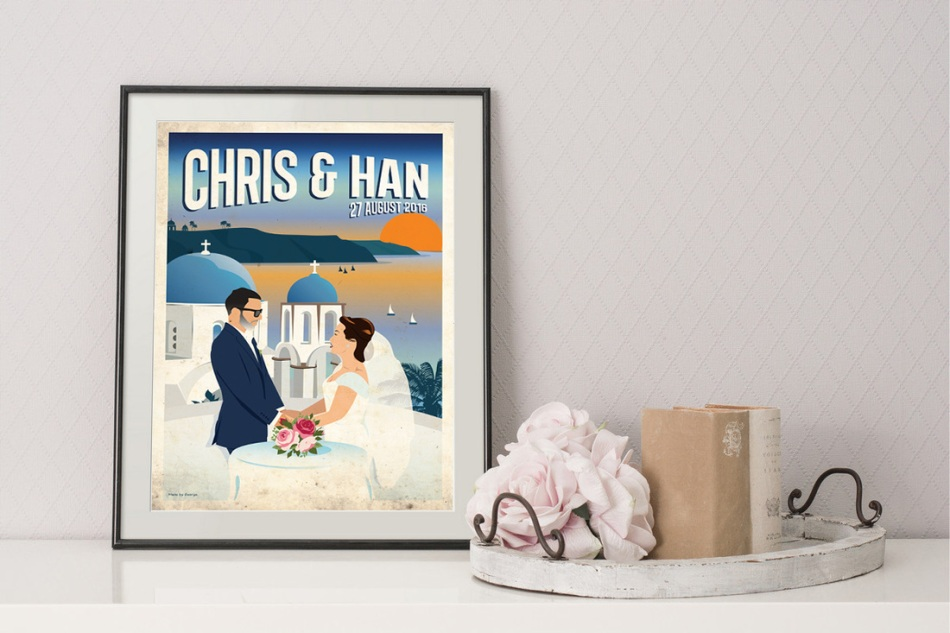 Personalised artwork from Made by George