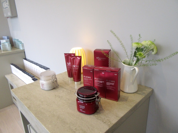Elegies products at SPAshell at Fishmore Hall Hotel, Shropshire