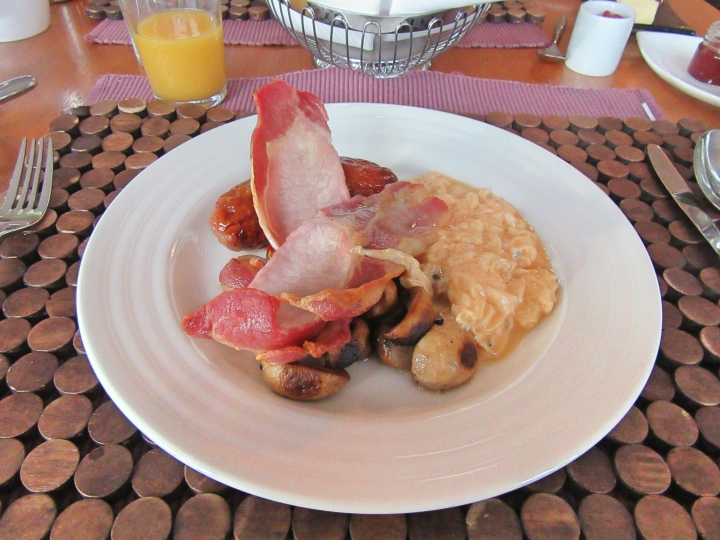 Breakfast at Fishmore Hall Hotel, Ludlow