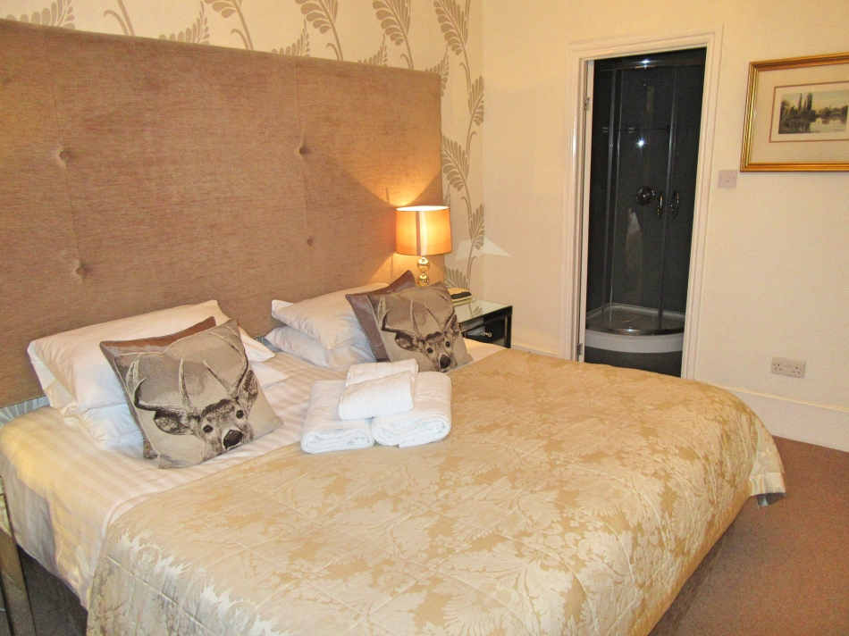 Bedroom at The Highfield, Keswick in Cumbria