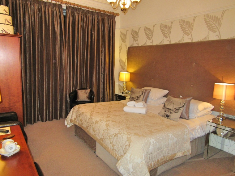 Bedroom at The Highfield, Keswick in Cumbria