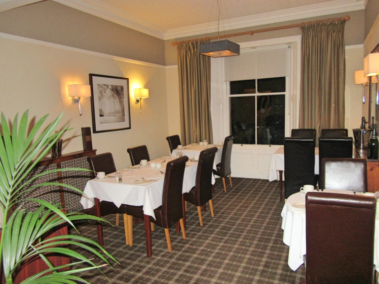 Dining Room at The Highfield in Keswick, Cumbria