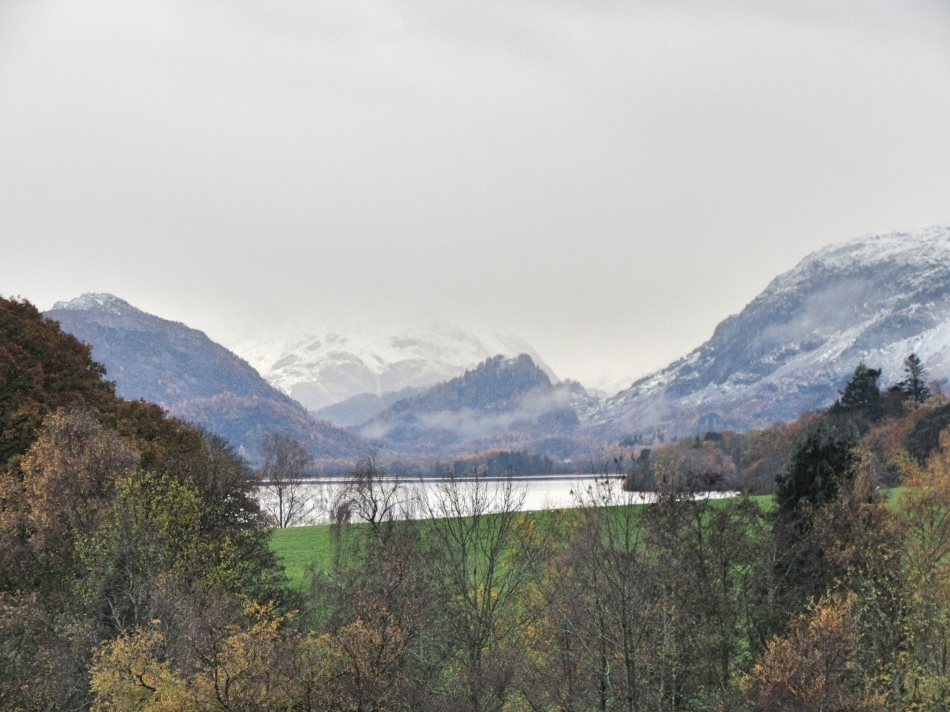 View from the Bedroom at The Highfield, Keswick in Cumbria